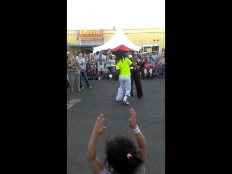 How white, black , Mexican , an Asian people dance