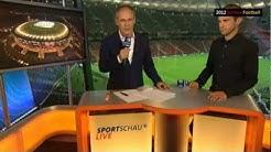 Deutschland-Italien 2012 ARD Postmatch mit Mehmet Scholl