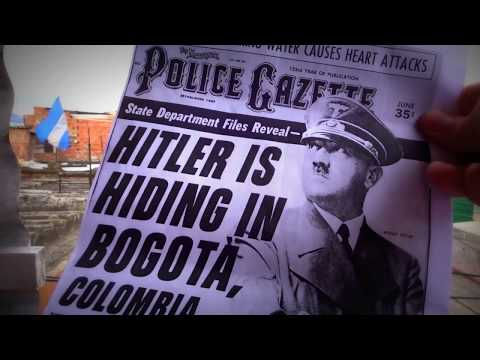 Raw Recording of CIA Hitler files with Richard McColl for Colombian Calling