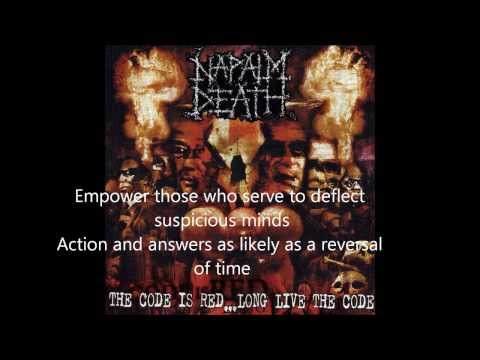 Silence is Deafening Napalm Death With Lyrics HD