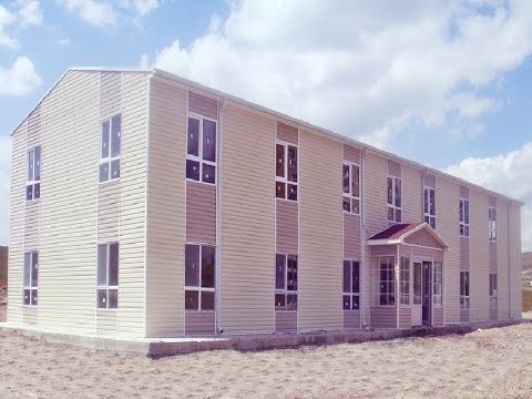 Termit Steel | Prefab Construction | Prefab Buildings | Hospital and School | Prefab Manufacturers