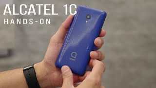 There's a reason why the Alcatel 1C is priced at around $80 [hands-on]