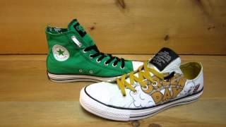 Green Day Converse Chuck Taylors