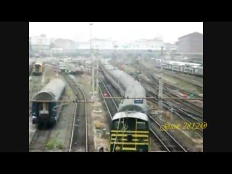 Torino porta nuova movimento treni ripresi dal ponte di - Orari treni milano torino porta nuova ...