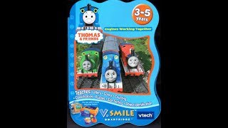 Thomas & Friends: Engines Working Together V.Smile Playthrough