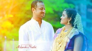 Kerala Hindu Wedding | Traditional Wedding Adrash & Nuthi Wedding Story
