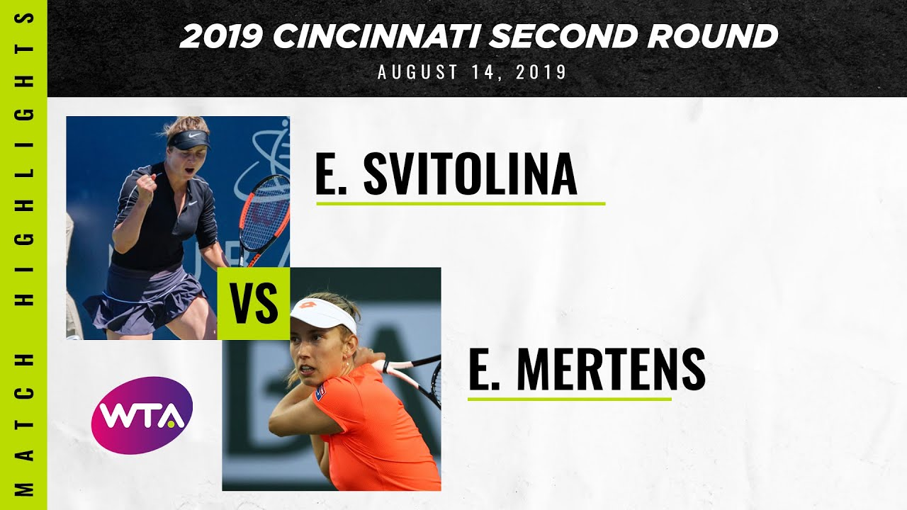 Elina Svitolina vs. Elise Mertens | 2019 Western & Southern Open Second Round | WTA Highlights