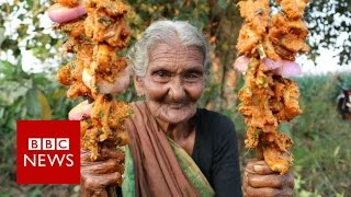 Indian great grandmother YouTube star   BBC News