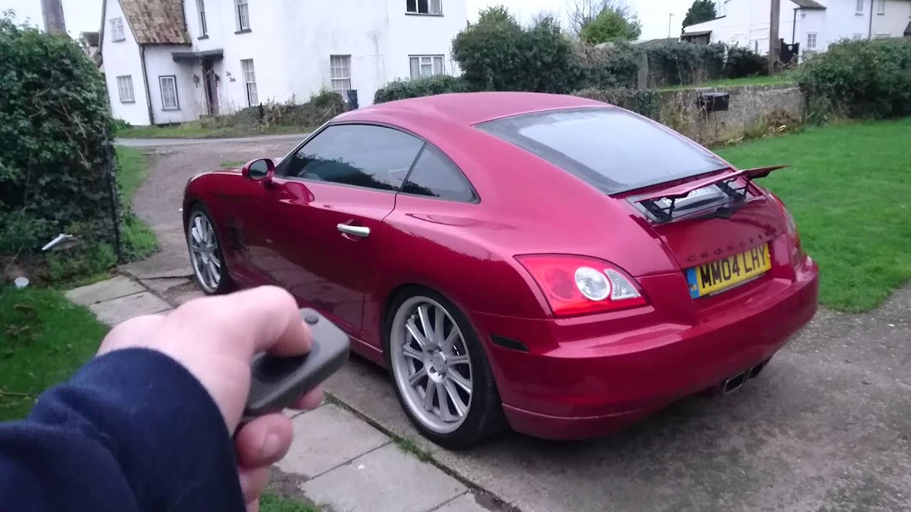 small resolution of remote activated deactivated spoiler all done with pics and video crossfireforum the chrysler crossfire and srt6 resource
