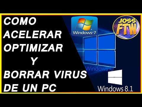 COMO ACELERAR LIMPIAR Y OPTIMIZAR MI PC CON Windows 7,8 Y 10 Sin Programas Parte #1