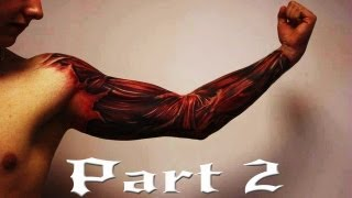 Repeat youtube video Best 3D tattoos in the world HD [ Part 2 ] - Amazing Tattoo Designs