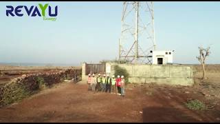 Wind Turbine Installation on Telecom Tower Top - Revayu Energy