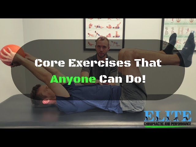 Core Exercises That Anyone Can Do | Chesterfield Chiropractor