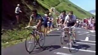 1990 Tour de France stage 16 Luz Ardiden - Lemond v Indurain
