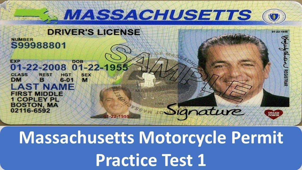 Motorcycle Permit Practice Test