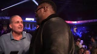 BIG BABY MILLER, TYSON FURY, USYK, TEOFIMO LOPEZ, LOMA, COMMEY ALL COME FACE TO FACE