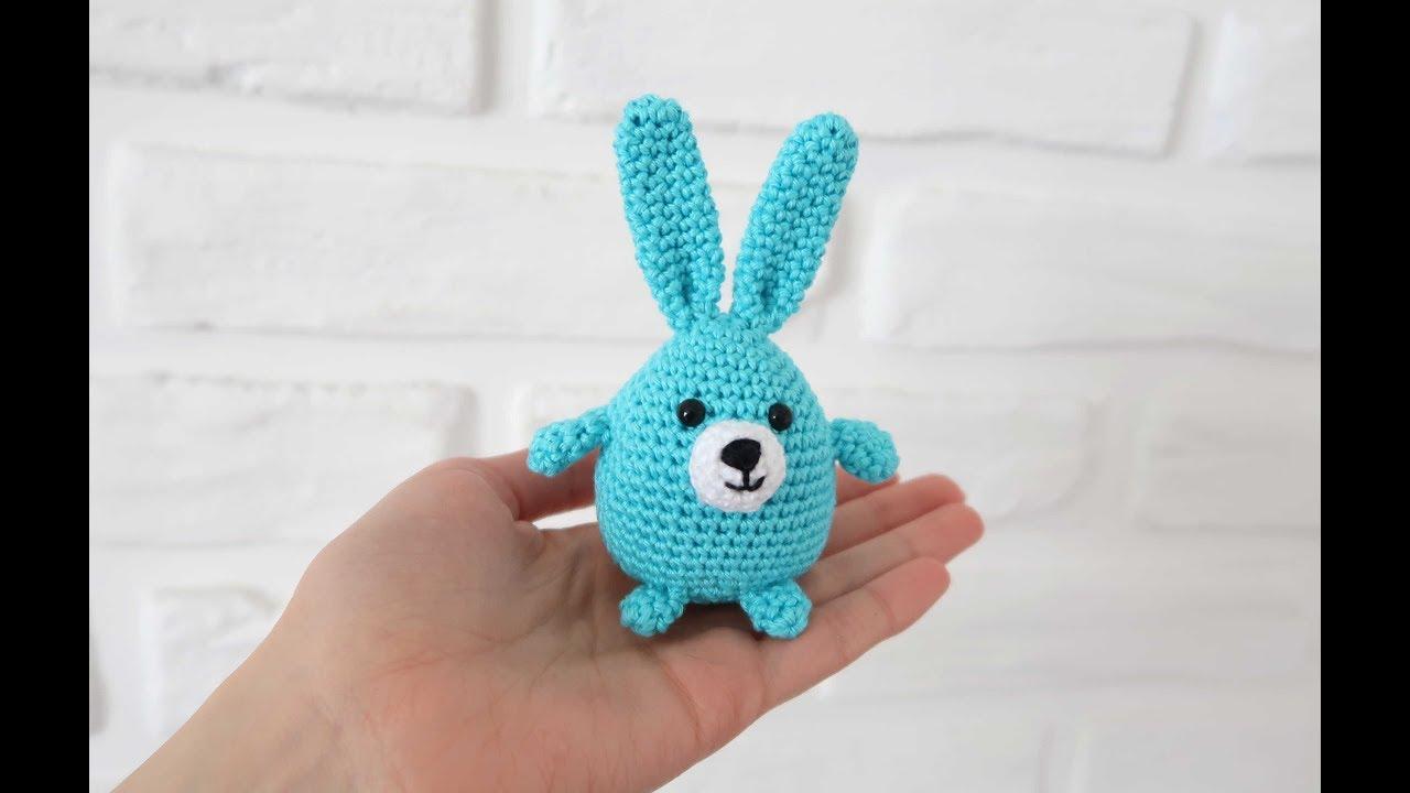 как связать кролика малинку