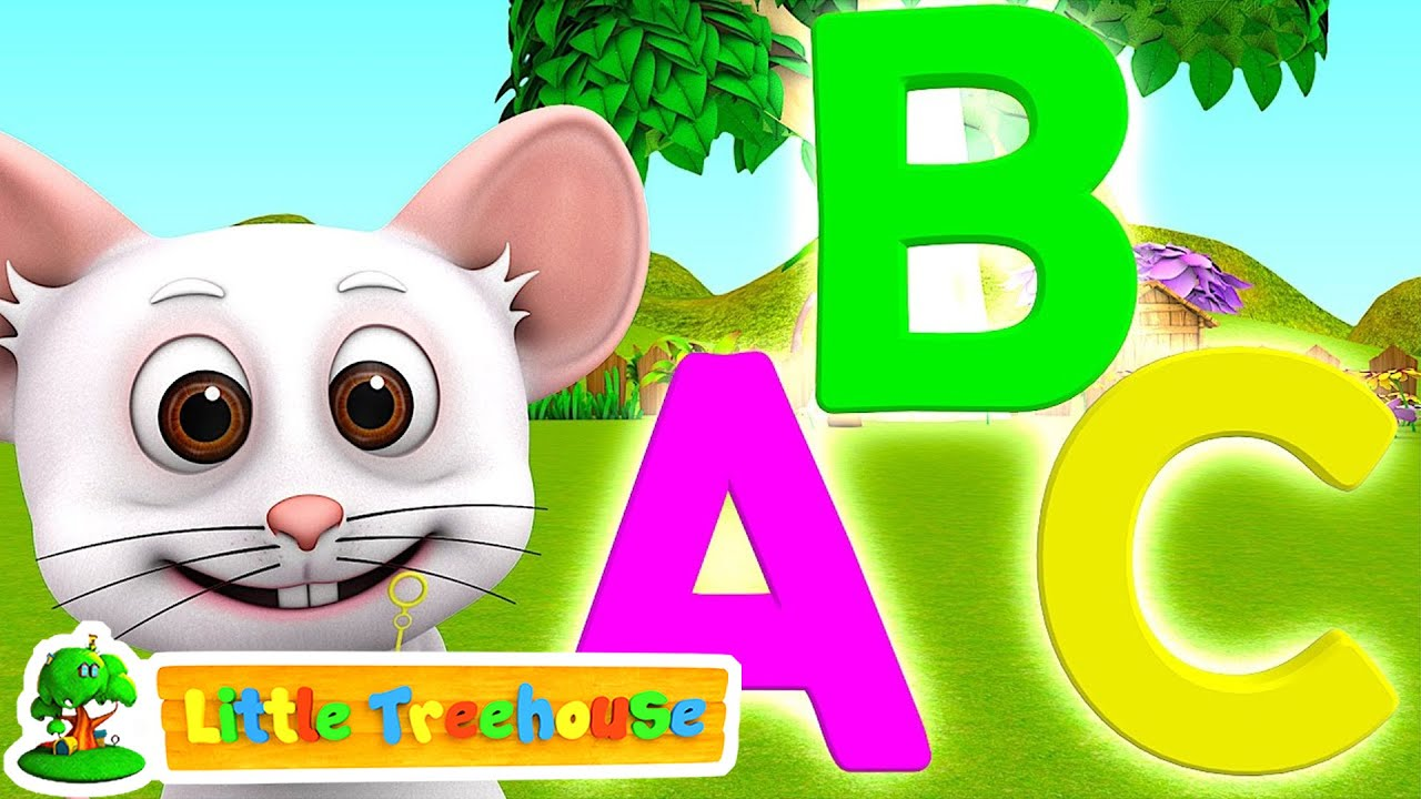 ABC Colors Shapes & Numbers | Kindergarten Nursery Rhymes & Songs ...