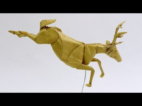 How to make an Origami Deer