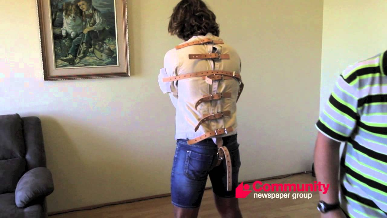 Straight Jacket escape - YouTube