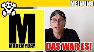MADE MY DAY ist am Ende! Gut oder Schlecht? - #MeinSenf