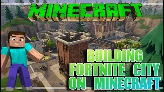 Minecraft Building Fortnite Tilted Towers