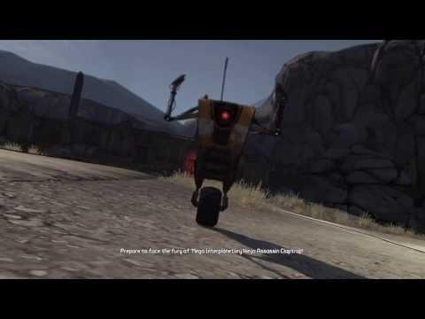 Borderlands - Claptrap Kills Marcus