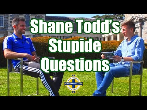 TIGHT SHORTS: Shane Todd asks the NI Football Team some Stupide Questions