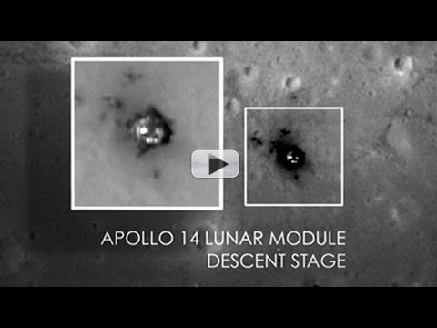 Apollo Landing Sites Spotted In Sharp New Detail | Video