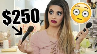 $250 MAKEUP BRUSH?! WORTH THE MONEY? DUPES?