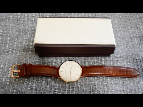 How to change the strap on your Daniel Wellington watch