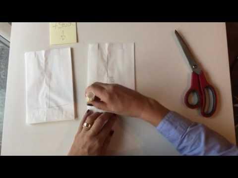 sterne aus butterbrotpapier youtube. Black Bedroom Furniture Sets. Home Design Ideas