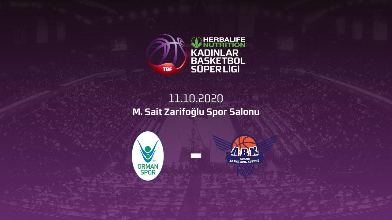 OGM Ormanspor – Büyükşehir Belediyesi Adana Basket Herbalife Nutrition KBSL 3.Hafta