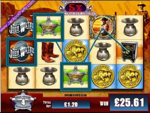 Play John Wayne online slots at Casino.com