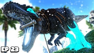 Taming a BOSS GIGA over lvl 1000! | ARK MEGA Modded #23 (Pugnacia)
