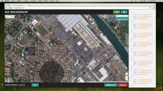 Google Map JSON generator  - demo - v.0.1 Free HD Video