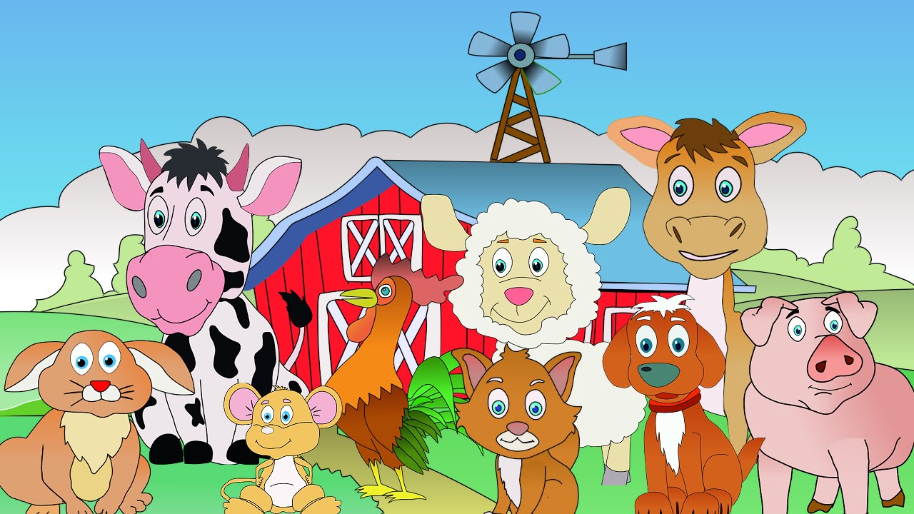 animals on the farm animal sounds learn the sounds farm animals