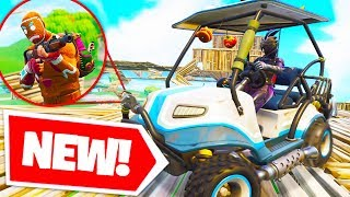 Can Lazarbeam BEAT MY COURSE?! | Fortnite Playground v2 ATK Run Custom Gamemode