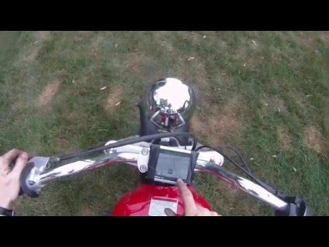 Mini Bike 85km/h! (53mph)