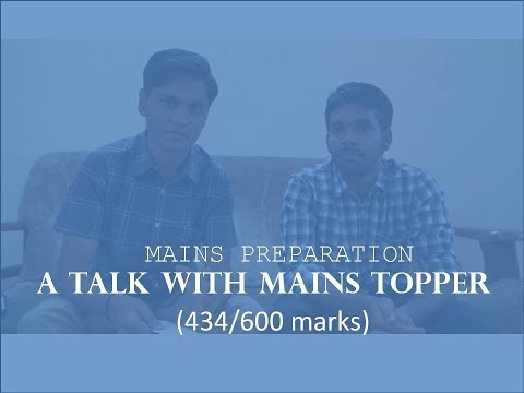 Discussion on IES Mains Preparation | UPSC ESE (New Pattern) | Avuluri Srinivasulu (AIR-3, E&T)