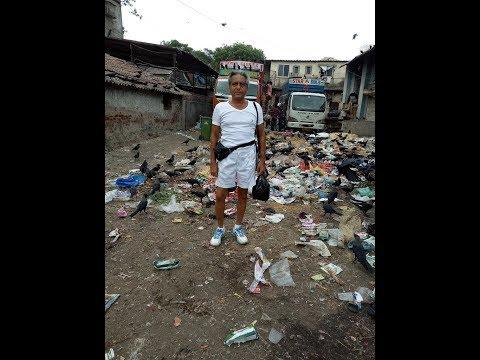 Swach Bharat  Shooting Garbage As Fine  Art  Bandra Bazar Road