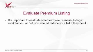 Google AdWords Advanced Tutorial 8 - How To Control Your Ad Position