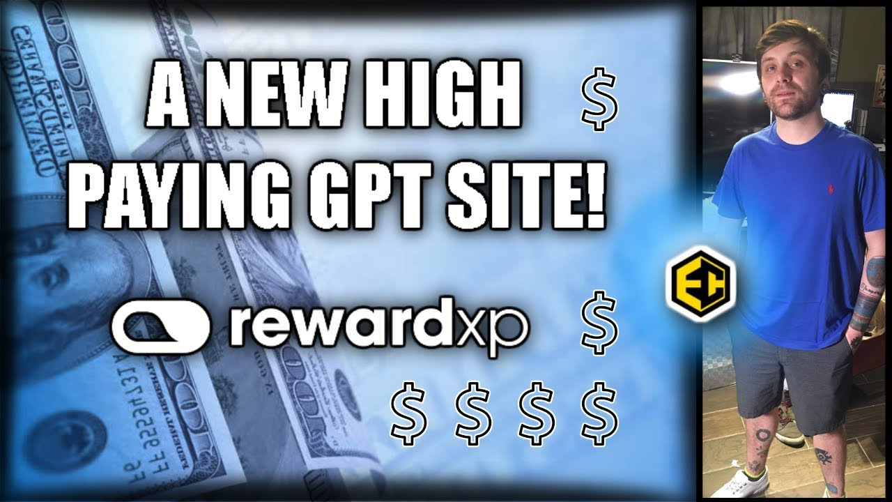 A NEW HIGH PAYING GPT SITE! | [REWARDXP] Easy Bitcoin & Paypal Cash