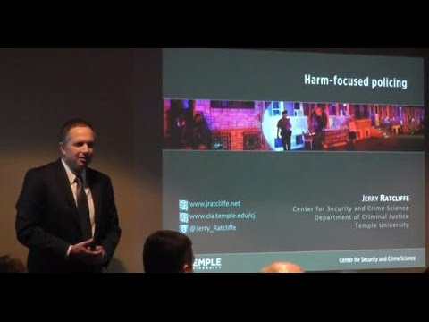 Ideas in American Policing: Dr. Jerry Ratcliffe on Harm-Focused Policing