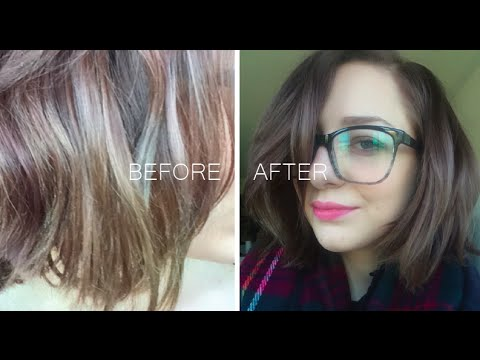 Quick Fix For Hair Color Disaster Fanci Full Color Rinse No