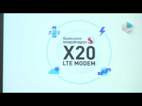 Qualcomm MWC 2017 - Snapdragon X20 and X50