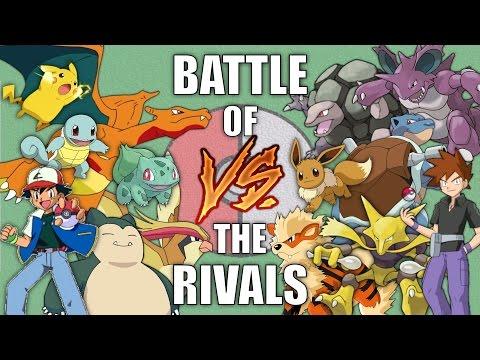 Battle of the Rivals #1 (Ash vs Gary) - Pokemon Battle Revolution (1080p 60fps)