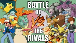 Battle of the Rivals #1 (Ash vs Gary) - Pokemon Battle Revolution (1080p 60fps)