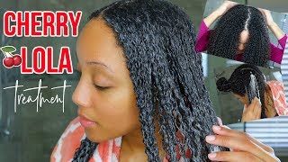 GET RID OF FRIZZY ROOTS + HAIR WITH THIS DIY HAIR MASK!