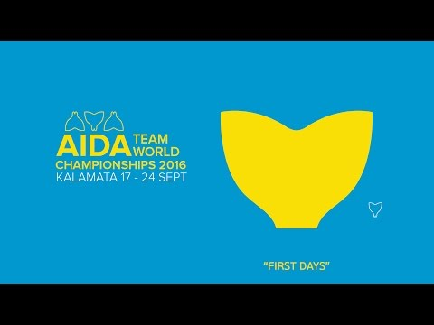 FIRST DAYS - AIDA TWCH 2016 KALAMATA GREECE